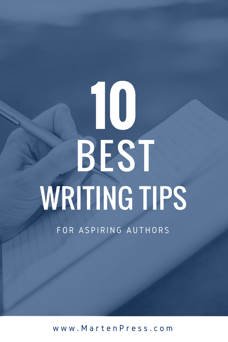 Think you have a great book idea? Stop being a dreamer and become a doer! Click through for ten best writing tips for aspiring authors.