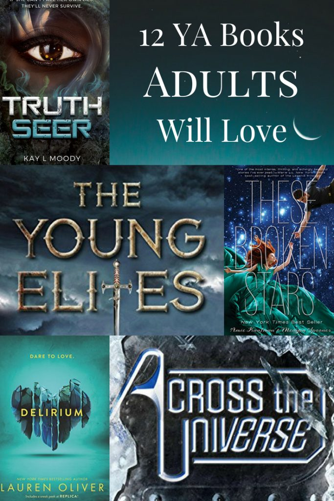 12 YA Books Adults Will Love. Click through for the whole list!